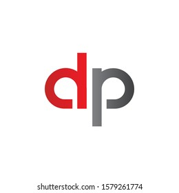 Initial DP Letter Logo With Creative Modern Business Typography Vector Template. Creative Letter DP Logo Vector.