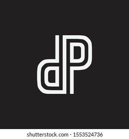 Initial DP PD Letter Logo Design Vector Template. Monogram and Creative Alphabet D P Letters icon Illustration.