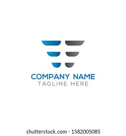 Initial EE Letter Linked Logo. Creative Letter EE Modern Business Logo Vector Template. Initial EE Logo Template Design