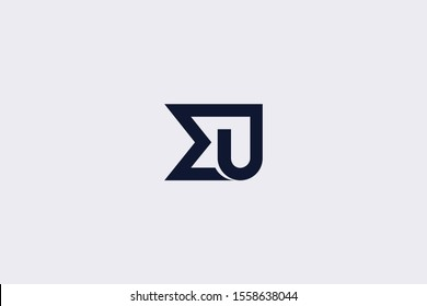 Initial EJ JE Letter Logo Design Vector Template. Monogram and Creative Alphabet E J Letters icon Illustration.