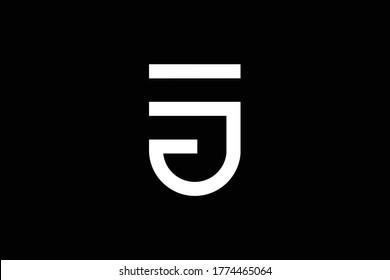 Je Monogram Images Stock Photos Vectors Shutterstock
