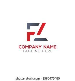 Initial FL Letter Linked Logo. Creative Letter FL Modern Business Logo Vector Template. FL Logo Design