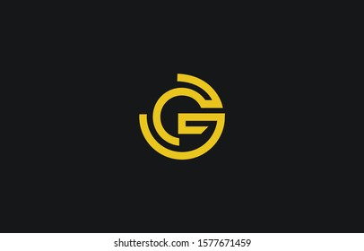 Initial G Letter Logo Design Vector Template. Monogram and Creative Alphabet GG Letters icon Illustration.