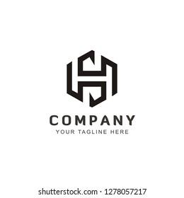 Initial HS logo design inspiration