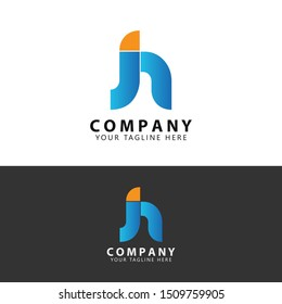 Initial JN Logo Design Inspiration vector