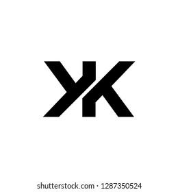 initial K letter k technology