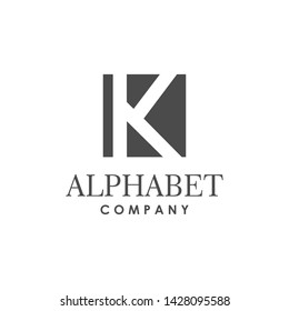 Initial k logo design inspiration