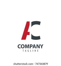 Initial Letter AC Design Logo