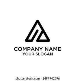 Initial Letter AI, IA Logo Design Template