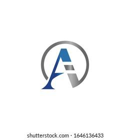 Initial letter ai or ia logo vector design templates
