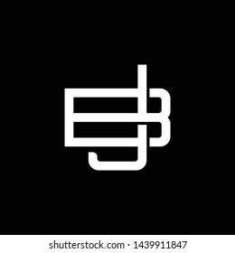 Jb Monogram Images, Stock Photos & Vectors | Shutterstock
