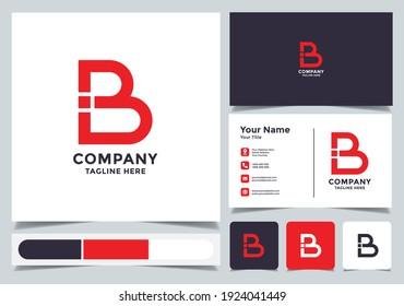 Initial letter B logo. A unique, exclusive, elegant, professional, clean, simple, modern logo. Suitable for your business, company, etc.