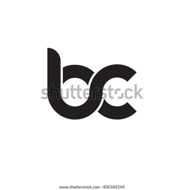 Image Vectorielle De Stock De Lettre Initiale Lettre Bc Logo