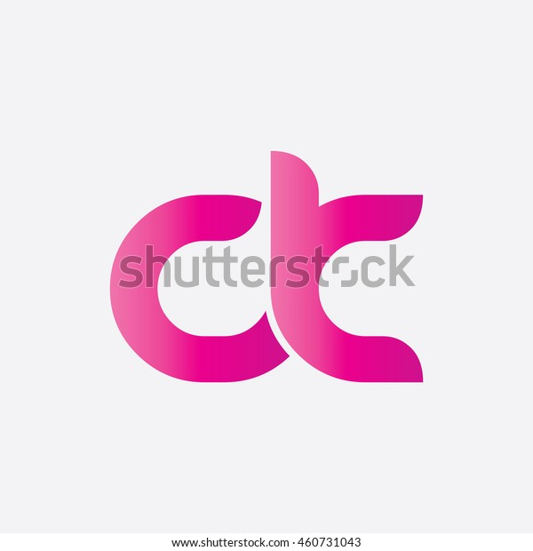 Initial Letter Ck Clc Linked Circle Stock Vector (Royalty