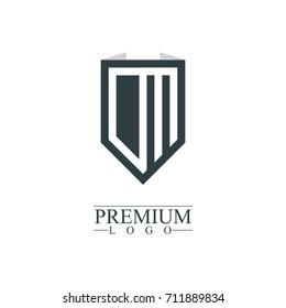 Initial Letter CM Company Design Logo Template