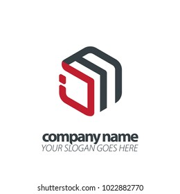 Initial Letter Creative Logo