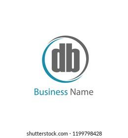 Initial Letter DB Logo Template Design