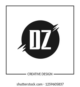 Abstract Letter Zd Dz Icon Images, Stock Photos & Vectors