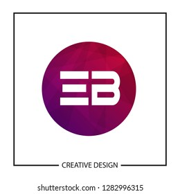 Initial Letter EB Logo Template Design