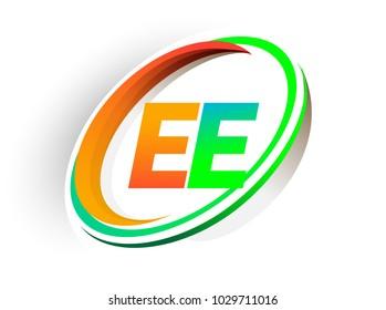 Ee Concept ee logo images stock photos vectors