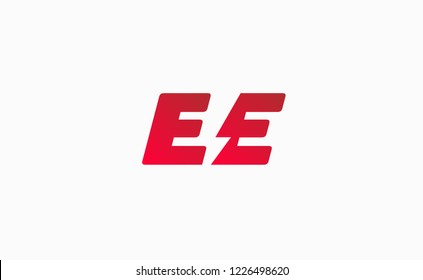 Initial letter EE . Suitable For Infographics , Company Logo, Print, Digital, Icon, Apps, print T-Shirts and Other