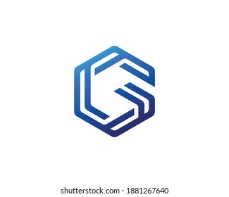 Initial letter G logo template suitable for businesses and product names. This stylish logo design could be used for different purposes for a company, product, service or for all your ideas.