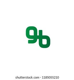 Initial Letter GB Linked, Rounded Logo Design