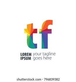 Initial Letter Gradient Logo