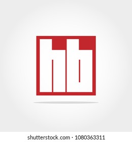 Initial Letter HB Logo Design