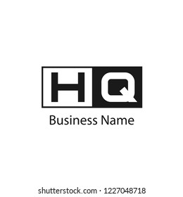 Initial Letter HQ Logo Template Design