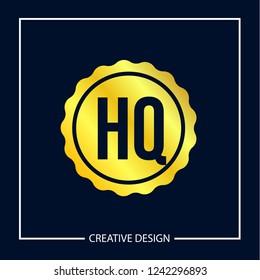 Initial Letter HQ Logo Template Design