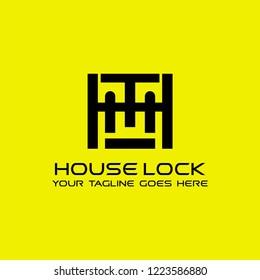 Initial letter HT logo design