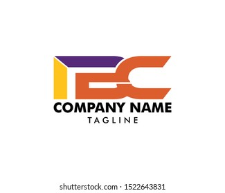 Initial Letter IBC Logo Template Design