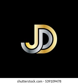 logo jd images stock photos vectors shutterstock https www shutterstock com image vector initial letter jd linked design logo 539109478