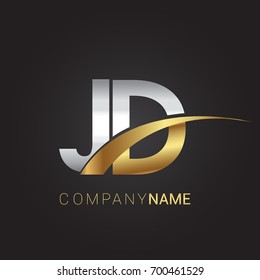 jd logo design images stock photos vectors shutterstock https www shutterstock com image vector initial letter jd logotype company name 700461529