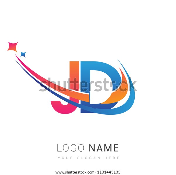 initial letter jd logotype company name stock vector royalty free 1131443135 https www shutterstock com image vector initial letter jd logotype company name 1131443135