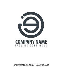 Initial Letter JG Design Logo