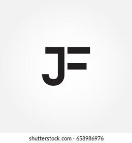initial letter JG logo icon design