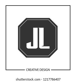 Initial Letter JL Logo Template Design Vector Illustration