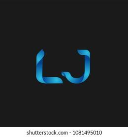 Initial Letter LJ Logo Design