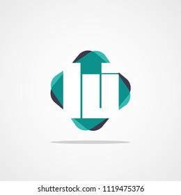 Initial Letter LJ Logo Template Vector Design
