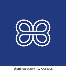 initial letter logo BB, logo template