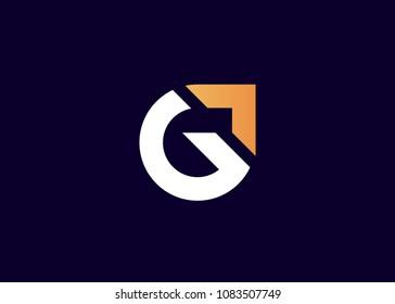 initial letter logo G, logo template