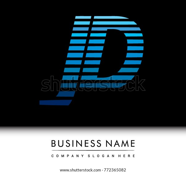 initial letter logo jd colored blue stock vector royalty free 772365082 shutterstock