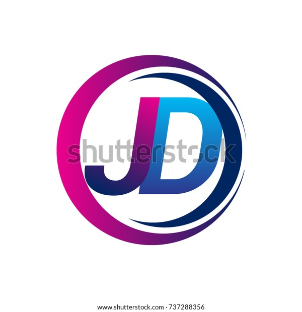 initial letter logo jd company name stock vector royalty free 737288356 https www shutterstock com image vector initial letter logo jd company name 737288356