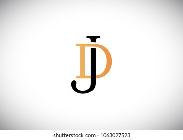 logo jd images stock photos vectors shutterstock https www shutterstock com image vector initial letter logo jd dj template 1063027523