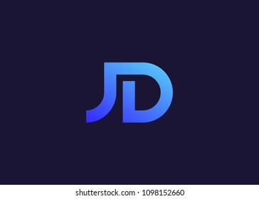 jd logo design images stock photos vectors shutterstock https www shutterstock com image vector initial letter logo jd template 1098152660