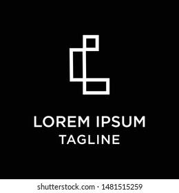 initial letter logo LI, IL, logo template