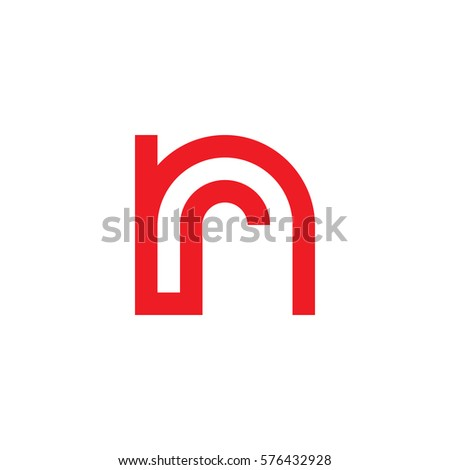 Initial letter logo nr rn r stock vector royalty free 576432928 initial letter logo nr rn r inside n rounded lowercase red flat altavistaventures Images