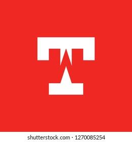 initial letter logo TW, logo template